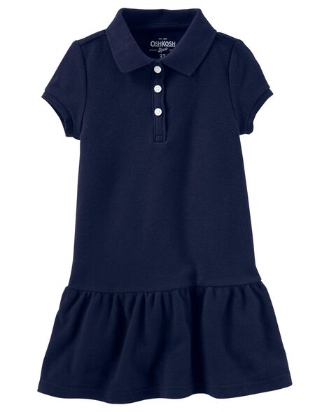 Display product reviews for Piqué Polo Uniform Dress