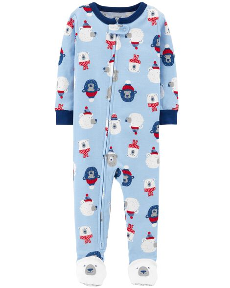 Display product reviews for 1-Piece Polar Bear Snug Fit Cotton PJs