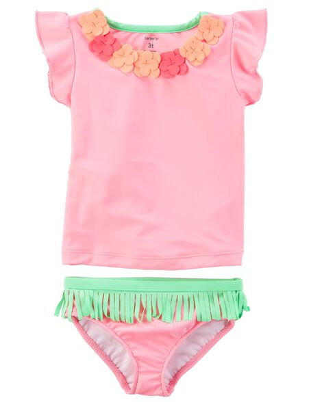 Display product reviews for Carter's Hawaiian 2-Piece Swimsuit