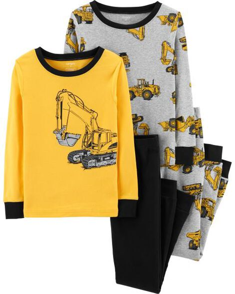 Display product reviews for 4-Piece Construction Snug Fit Cotton PJs