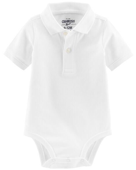 Display product reviews for Pique Polo Bodysuit