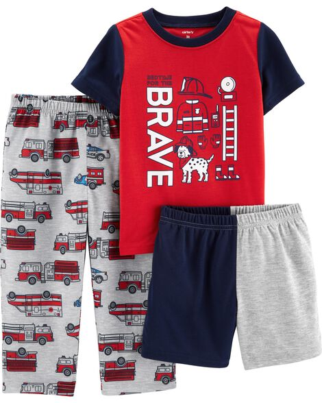 Display product reviews for 3-Piece Firefighter Poly PJs