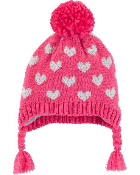 Display product reviews for Heart Pom Pom Hat