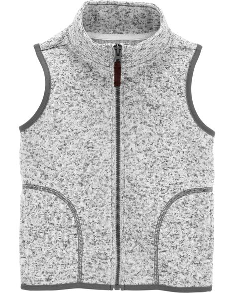 Display product reviews for Zip-Up Fleece-Lined Vest