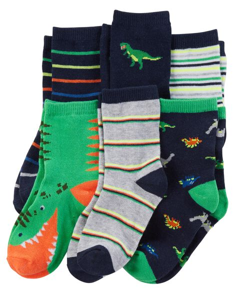 Display product reviews for 6-Pack Dinosaur Socks