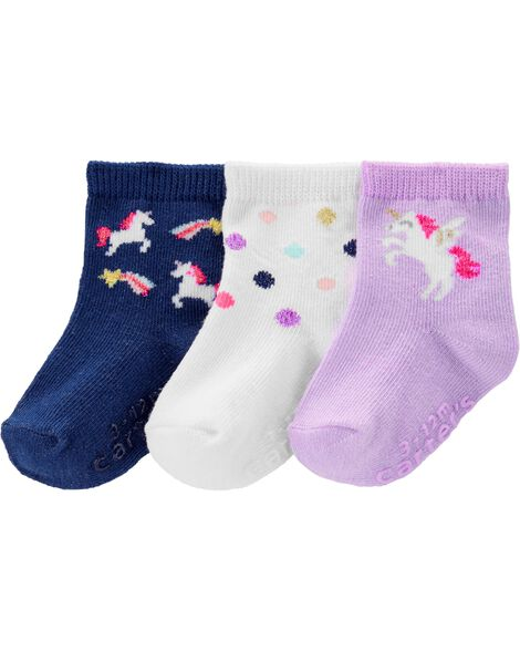 Display product reviews for 3-Pack Unicorn Crew Socks