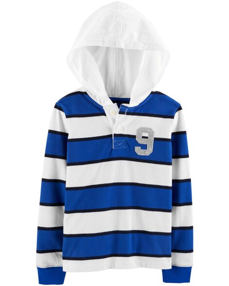 Display product reviews for Hooded Rugby Top