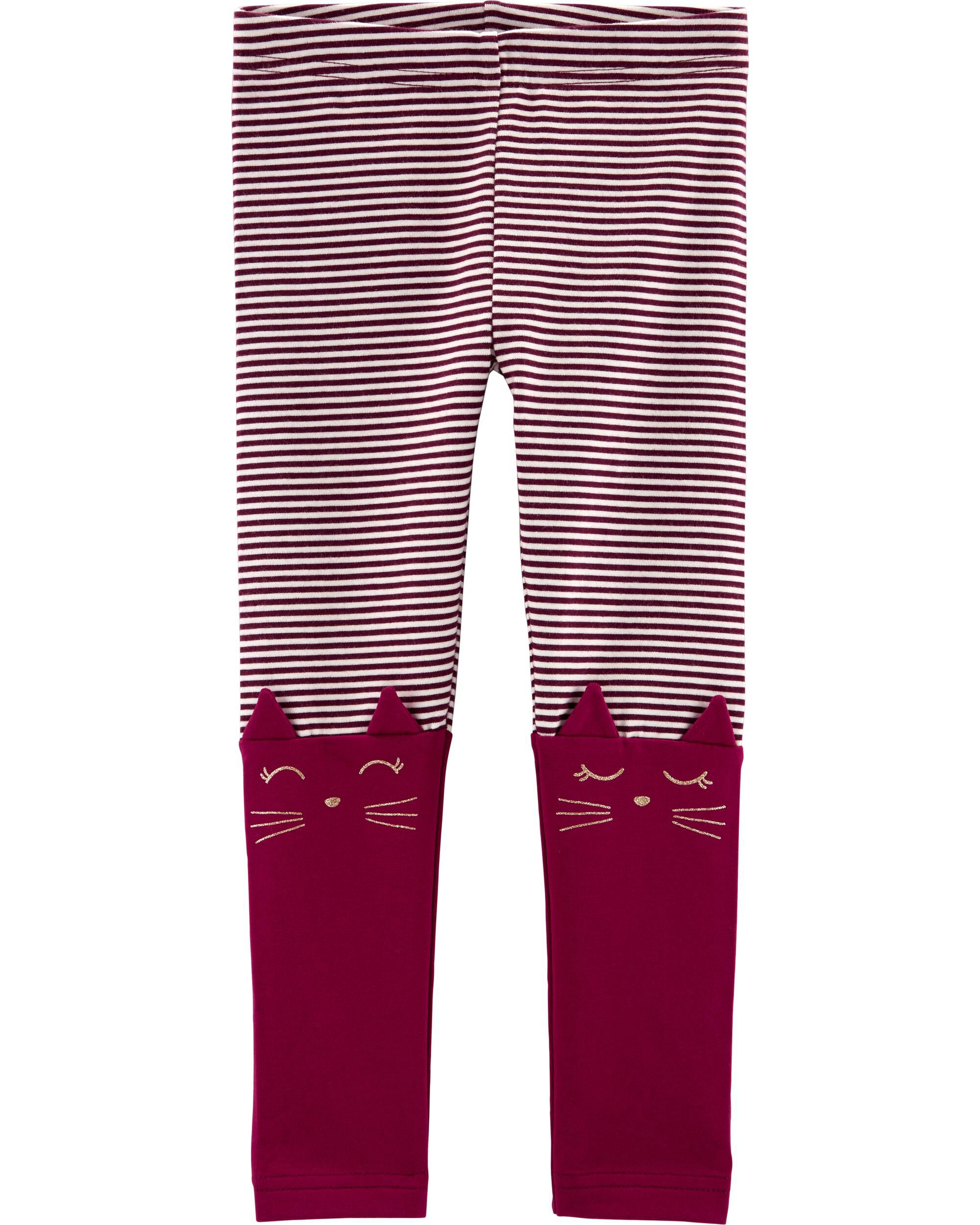 5b9ea66407179 2-Pack Cat Leggings | Carters.com