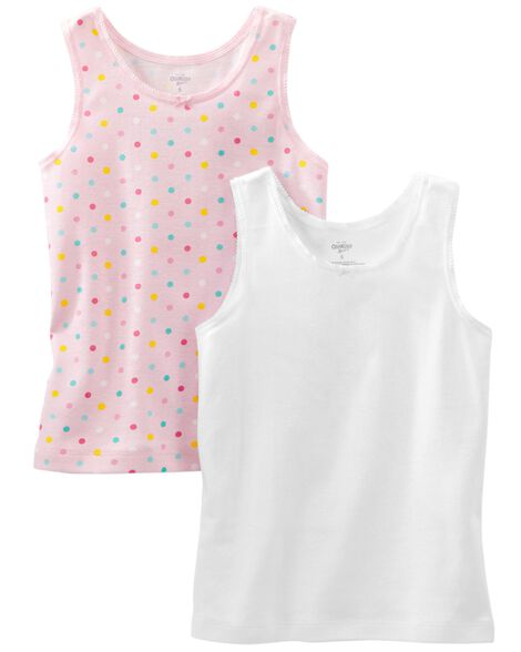 Display product reviews for 2-Pack Cotton Tanks