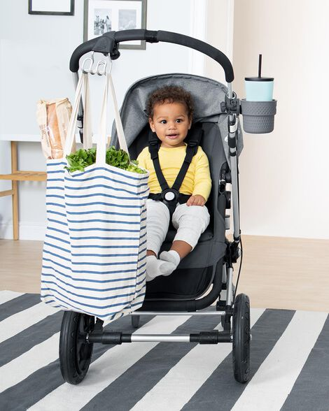 Stroll & Connect Universal Stroller Accessory Set - Charcoal