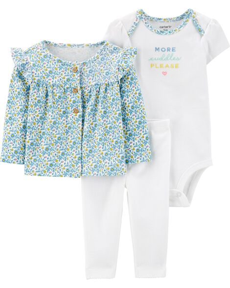 225b645f Display product reviews for 3-Piece Elephant Little Cardigan Set