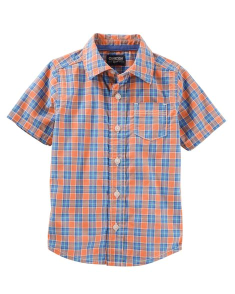 Display product reviews for Plaid Button-Front Shirt