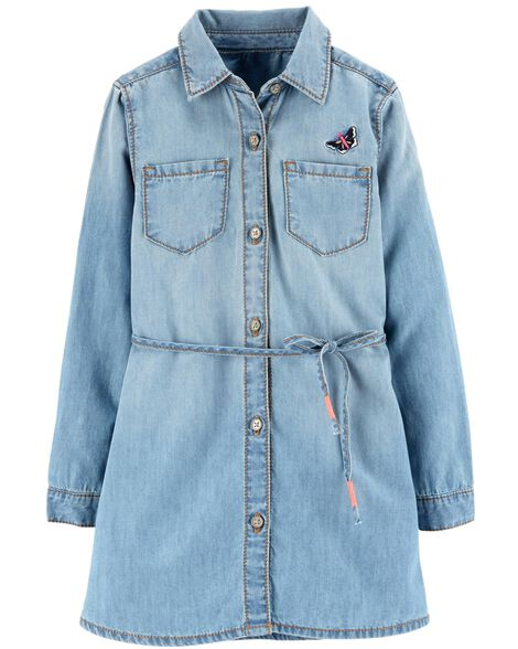 Display product reviews for Butterfly Chambray Dress