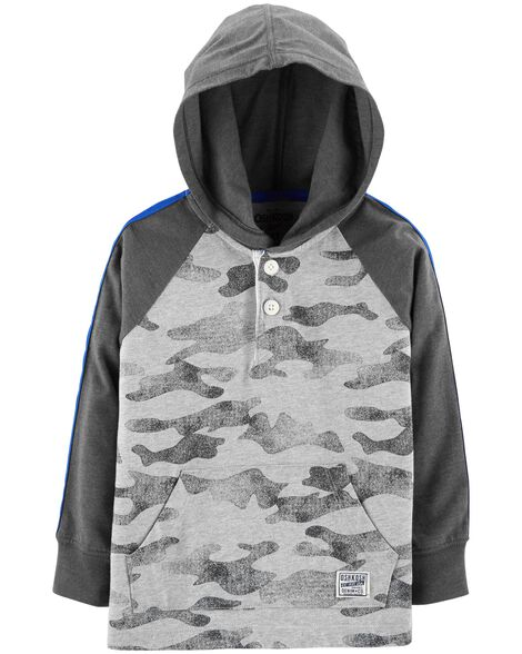 Display product reviews for Hooded Henley