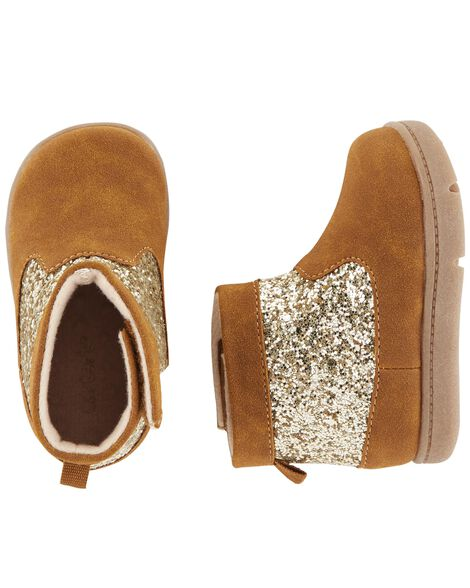 Display product reviews for Carter's Glitter Every Step Boots