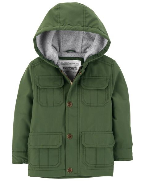 Display product reviews for Fleece-Lined Jacket
