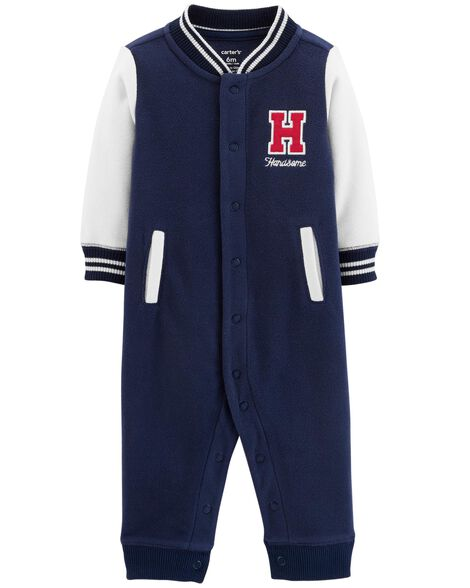 Display product reviews for Handsome Fleece Jumpsuit