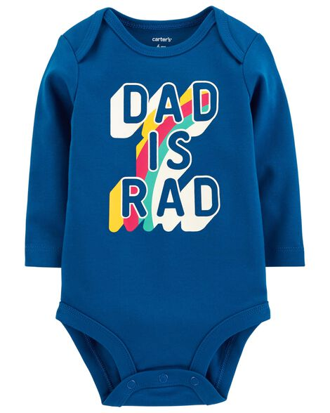 Display product reviews for Dad Is Rad Collectible Bodysuit