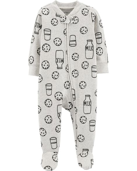 Display product reviews for Cookies & Milk Zip-Up Cotton Sleep & Play