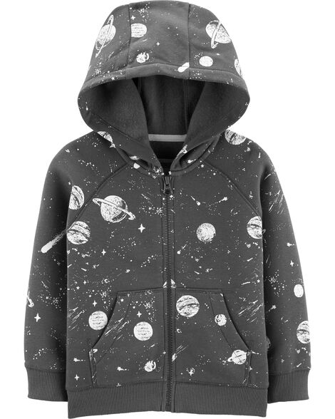 4608199ec Display product reviews for Space Zip-Up Fleece-Lined Hoodie