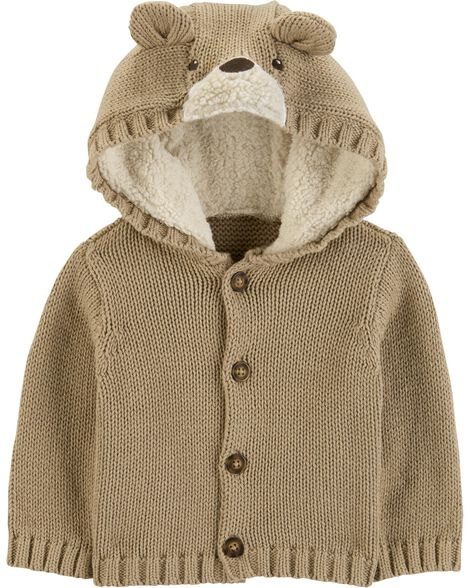 Display product reviews for Bear Cardigan