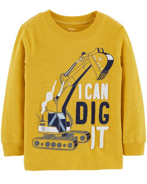 Display product reviews for Construction Truck Slub Jersey Tee