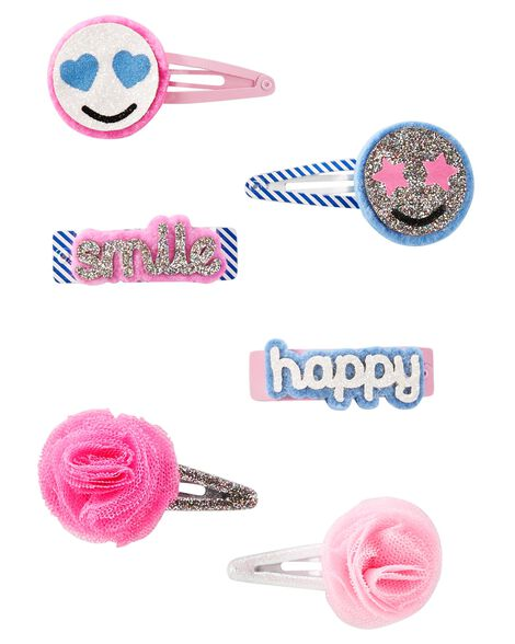 Display product reviews for 6-Pack Emoji & Flower Clips