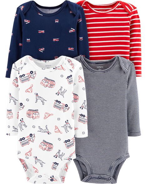 Display product reviews for 4-Pack Striped Firetruck Original Bodysuits