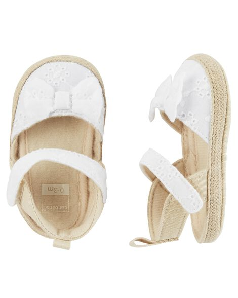 Display product reviews for Carter's Espadrille Baby Shoes