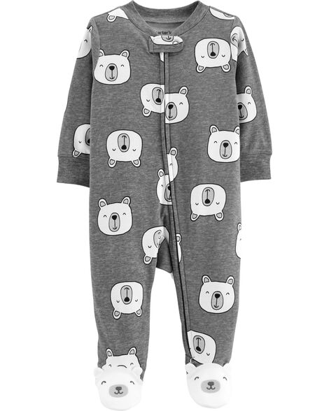 Display product reviews for Polar Bear Zip-Up Cotton Sleep & Play