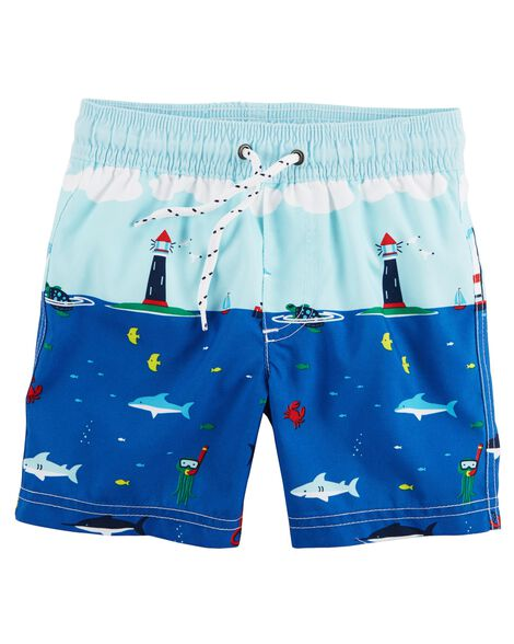 aec50cbc44 Baby Boy Swimwear: Trunks & Rashguards | Carter's | Free Shipping