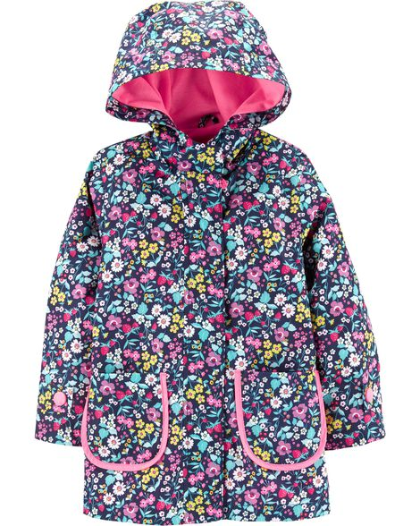 Display product reviews for Floral Raincoat