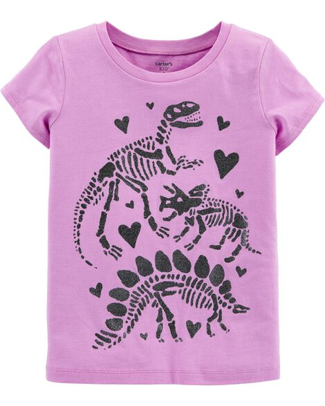 99bc92340da Display product reviews for Glitter Dinosaur Jersey Tee