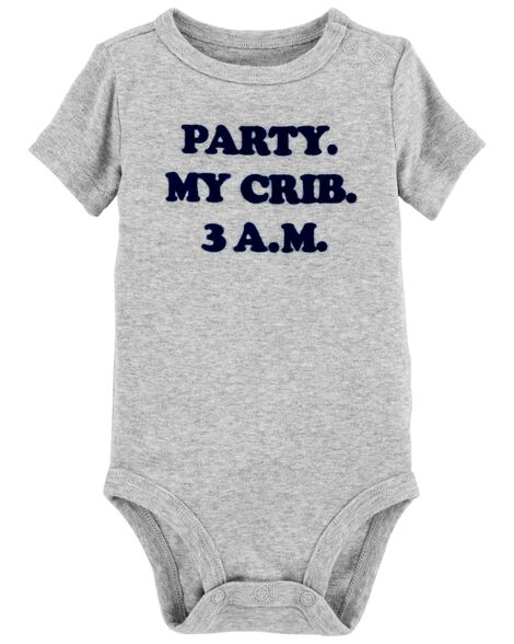 Display product reviews for Crib Party Bodysuit