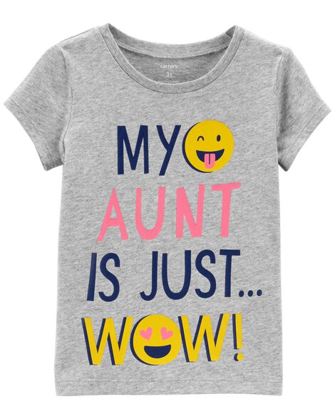 Display product reviews for Aunt Is Wow Jersey Tee