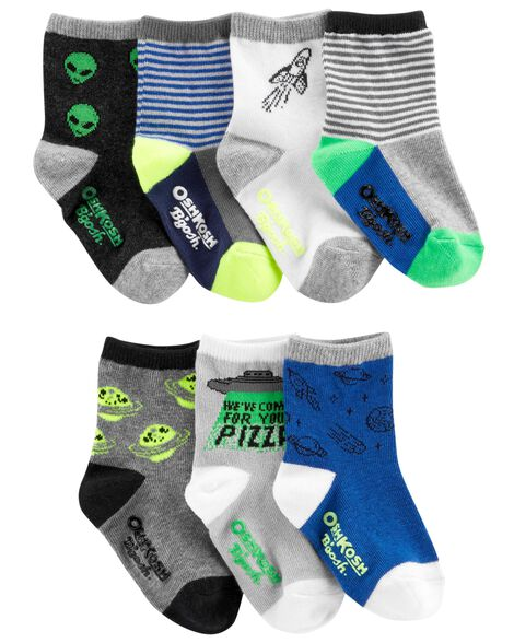 Display product reviews for 7-Pack Space Crew Socks