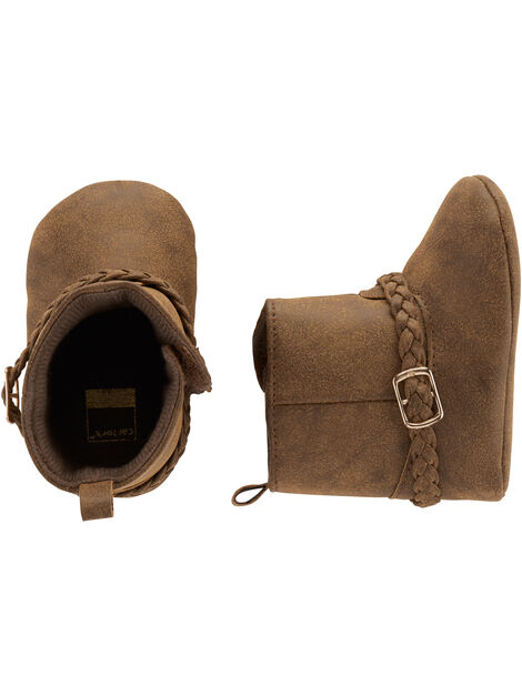 Display product reviews for Carter's Belted Boot Baby Shoes