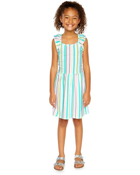 516603bcfaa1 Display product reviews for Striped Flutter Dress