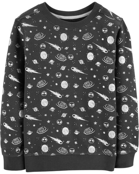 Display product reviews for Space Print Pullover