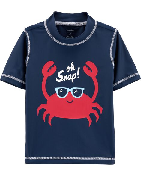 Display Product Reviews For Carters Crab Rashguard