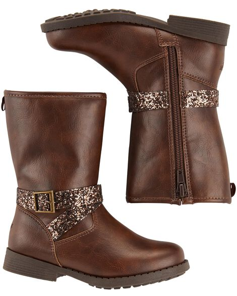 Display product reviews for OshKosh Sparkle Mid-Calf Boots