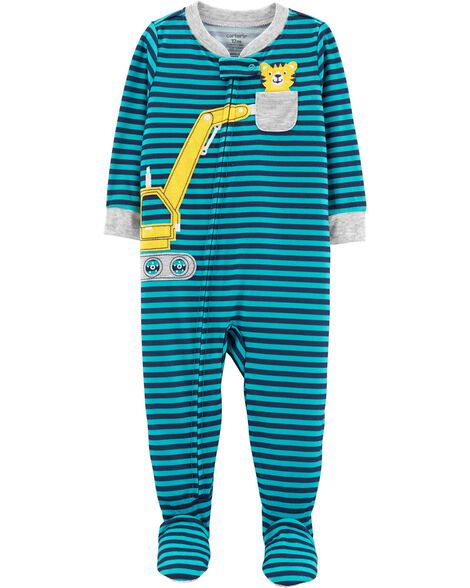 Display product reviews for 1-Piece Construction Footed Poly PJs