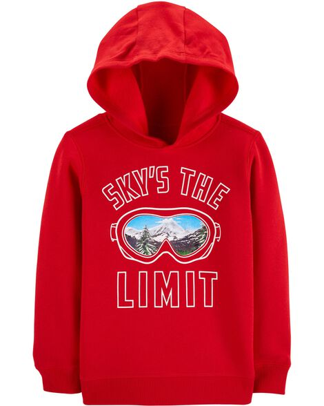 Display product reviews for Sky's The Limit Pullover Fleece Hoodie