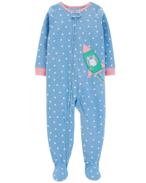 Display product reviews for 1-Piece Polka Dot Fleece PJs