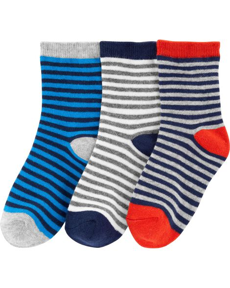 Display product reviews for 3-Pack Striped Socks