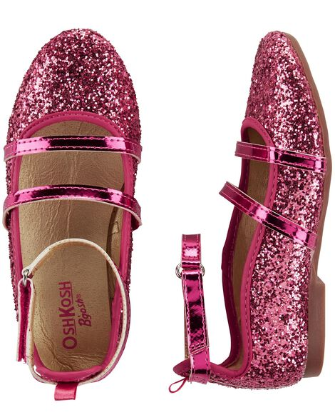 Display product reviews for OshKosh Glitter Ballet Flats