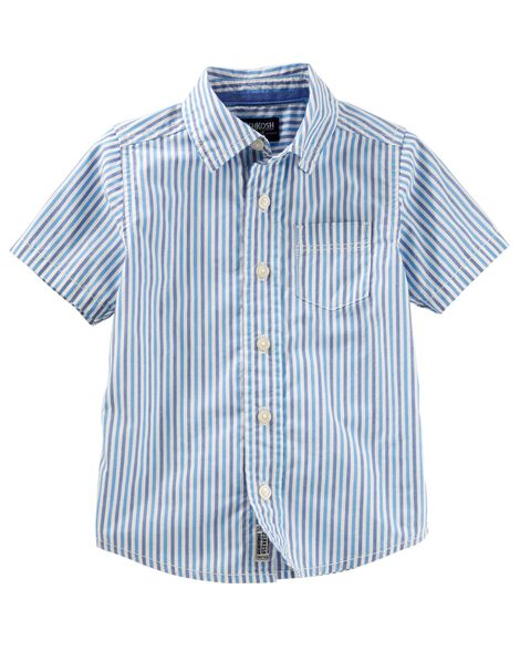 Display product reviews for Stripe Button-Front Shirt