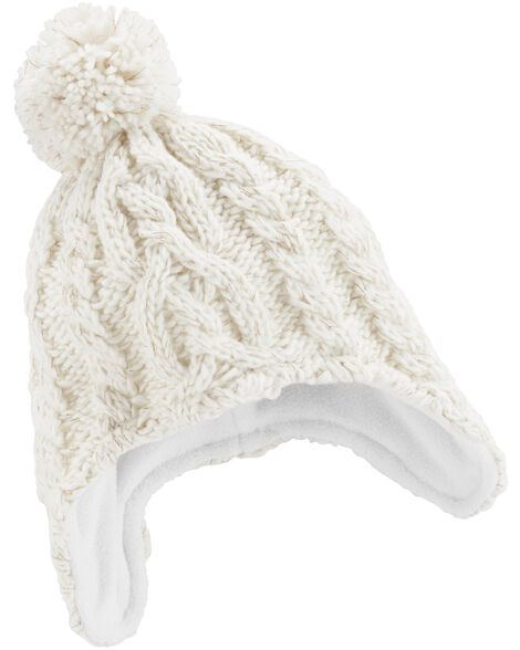 Display product reviews for Sparkle Knit Trapper Hat