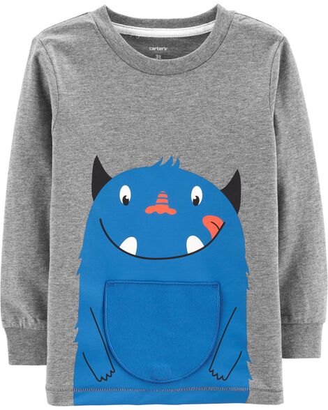 Display product reviews for Monster Peek-A-Boo Flap Tee