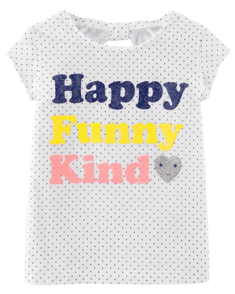 Display product reviews for Happy Funny Kind Jersey Tee
